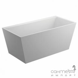 Прямоугольная ванна отдельностоящая Polimat Lea 170х80 белая (00821)