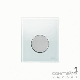 Панель смыва для писсуара стеклянная (белое стекло) TECE TECEloop Urinal 9.242.659 клавиша хром матовый