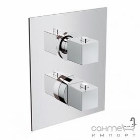 Змішувач-термостат для ванни/душа на 3 положення Eurorama PE750033QC хром