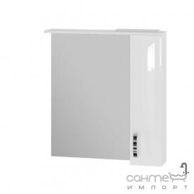 Зеркальный шкаф Ювента Trento TrnMC-75 правый белый