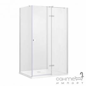 Прямокутна душова кабіна Besco Pixa R 120x90x195 прозоре скло правобічна
