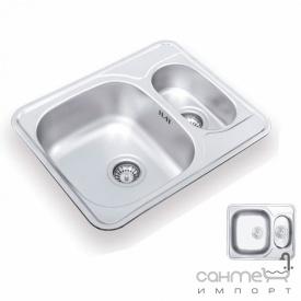 Кухонна мийка Ukinoх Comfort 594.488 15 GT 8K P полірована оборотна