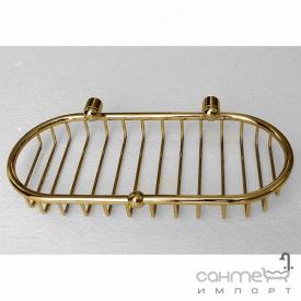 Решетка подвесная Pacini & Saccardi Accessori Doccia 30117/О золото