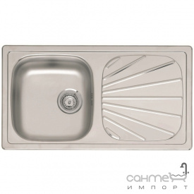 Кухонна мийка, виразний стандартний монтаж Reginoх Beta 10 A DECOR Нержавіюча Сталь