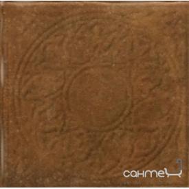 Плитка напольная декор 33.3х33.3 Cerrol Cortona DEKOR BROWN (коричневая)
