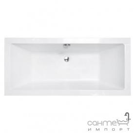 Прямоугольная акриловая ванна Besco Quadro Slim 170x75 белая