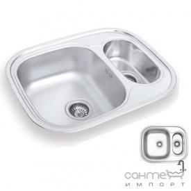 Кухонна мийка Ukinoх Galant 628.488 15 GT 8K P н / с полірована оборотна