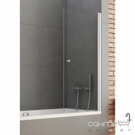 Шторка для ванни New Trendy New Soleo 90 P-0025 прозоре скло