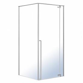 Душевая кабина FREEZ 90x90x200см квадратная распашная дверь EGER 599-180R/1(2коробки)