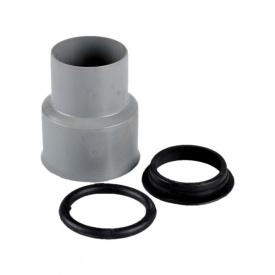 Перехід з чавуну на пластик 50 мм