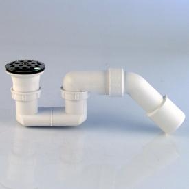 Сифон для душ под трубный VIEGA 70/52x1,1/2x40/50 мм (пласт повор вых с хром реш )