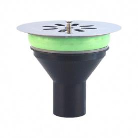 Решітка для трапу 125x100 мм (нерж )