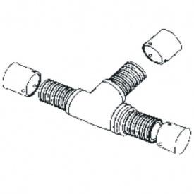 Трійник RAUBASIC 32-25-25