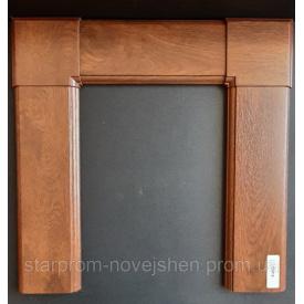 Наличник дверной плaстиковый ламинированный 2,1-1м набор с креплением орех