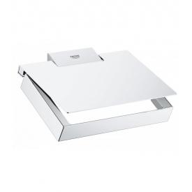 Selection Cube Держатель туалетной бумаги с крышкой GROHE 40781000
