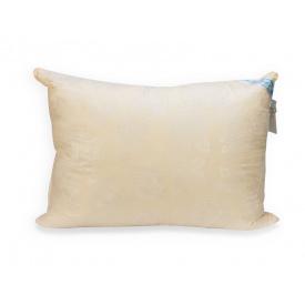 Подушка Leleka-Textile Лебяжий пух 50x70 Чехол Желтая Роза