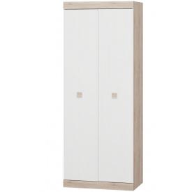 Шкаф распашной 2-х дверный Эверест Соната-800 сонома + белый