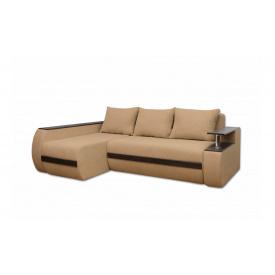 Угловой ортопедический диван Garnitur.plus Граф Бежевый 245 см
