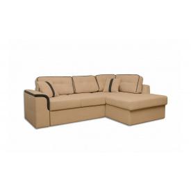 Угловой ортопедический диван Garnitur.plus Милан Бежевый 244 см