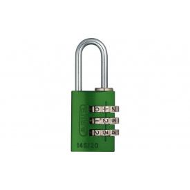 Замок навісний ABUS 145/20 Combination Lock Green (478482)