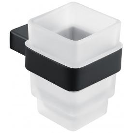 Стакан для зубных щеток ASIGNATURA Unique 85601802 Черный (5299)