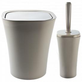 Набір для ванної кімнати PLANET PAPILLON 2 предмета Латте