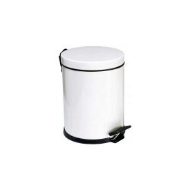 Ведро для мусора с педалью Mertinoks 5 л Белое (4501.2028S.101.05)