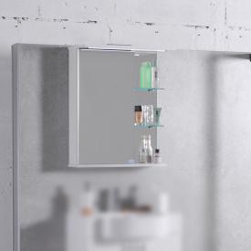 Шкаф-зеркало Fancy Marble МС-8 700x560x140мм (ШЗ-8)