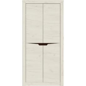Шкаф для вещей 1000 Либерти Эверест Дуб Крафт белый