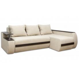 Угловой ортопедический диван Garnitur.plus Граф Белый 245 см