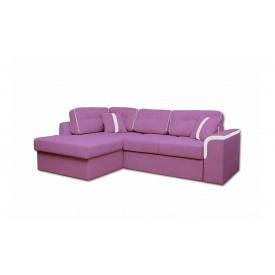 Угловой ортопедический диван Garnitur.plus Милан Фиолетовый 244 см