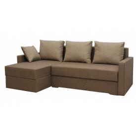 Угловой диван Garnitur.plus Микс Коричневый 244 см