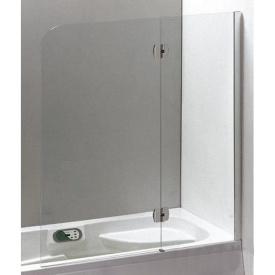 Шторка на ванну Eger 120x150см, хром (599-120CH/R)