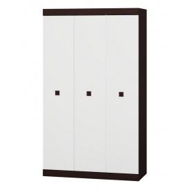 Шкаф 3-х дверный Эверест Соната-1200 венге + белый