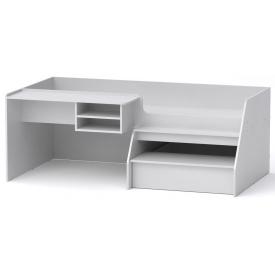 Кровать-чердак Универсал-3 Компанит Нимфея альба (белый)