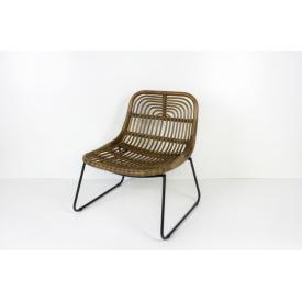 Кресло Конни CRUZO натуральный ротанг коричневый krk5588 (krk5588)