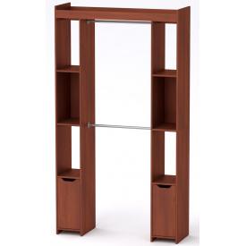 Шкаф для вещей 16 Компанит Яблоня (130х42х235 см)