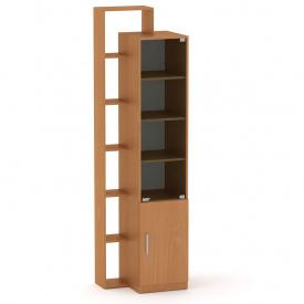Шкаф витрина с полками Компанит Шкаф-10 бук