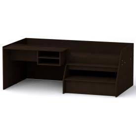 Кровать-чердак Универсал-3 Компанит Венге темный