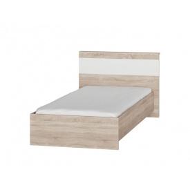 Односпальная кровать Эверест Соната-900 сонома + белый
