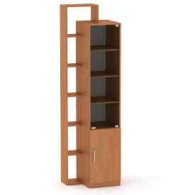 Шкаф витрина с полками Компанит Шкаф-10 ольха
