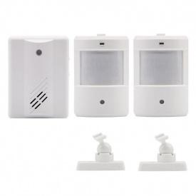 Беспроводной дверной звонок с 2-мя датчиками Leshp DD1407-2 (100721)