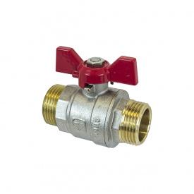 Кран шаровый HLV Optima PN40 НН 1'