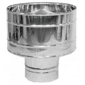 Дефлектор ЦАГИ из нержавеющей стали 125 мм