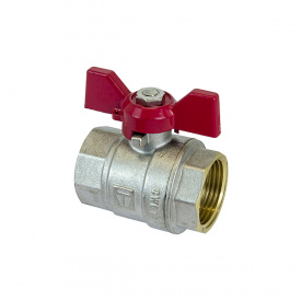 Кран шаровый HLV Optima PN40 ВВ 1'