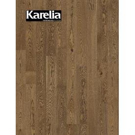Однополосная паркетная доска Karelia ДУБ STORY 138 COUNTRY PRESENCE
