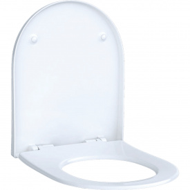 Сиденье для унитаза Geberit Acanto soft close быстроразъемные петли 500.605.01.2