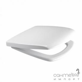 Сиденье для унитаза Cersanit Carina 011 Soft-close, белая
