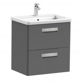Тумба с умывальником для ванной комнаты Roca Gap 60 см Серый A855997153