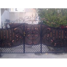 Ворота ковані ПП Брама Данс